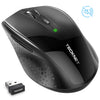 TECKNET 2.4G 3000 DPI Wireless Mouse With Nano Receiver Quiet Mice