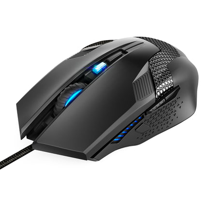 TECKNET Gaming Mouse 3200DPI RAPTOR Optical Ergonomic Mice - smartekbox