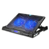 TECKNET 12''-17'' Laptop Notebook Cooler Cooler with 2 Adjustable Fans
