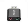 TECKNET USB Audio Adapter External Stereo Sound Adapter