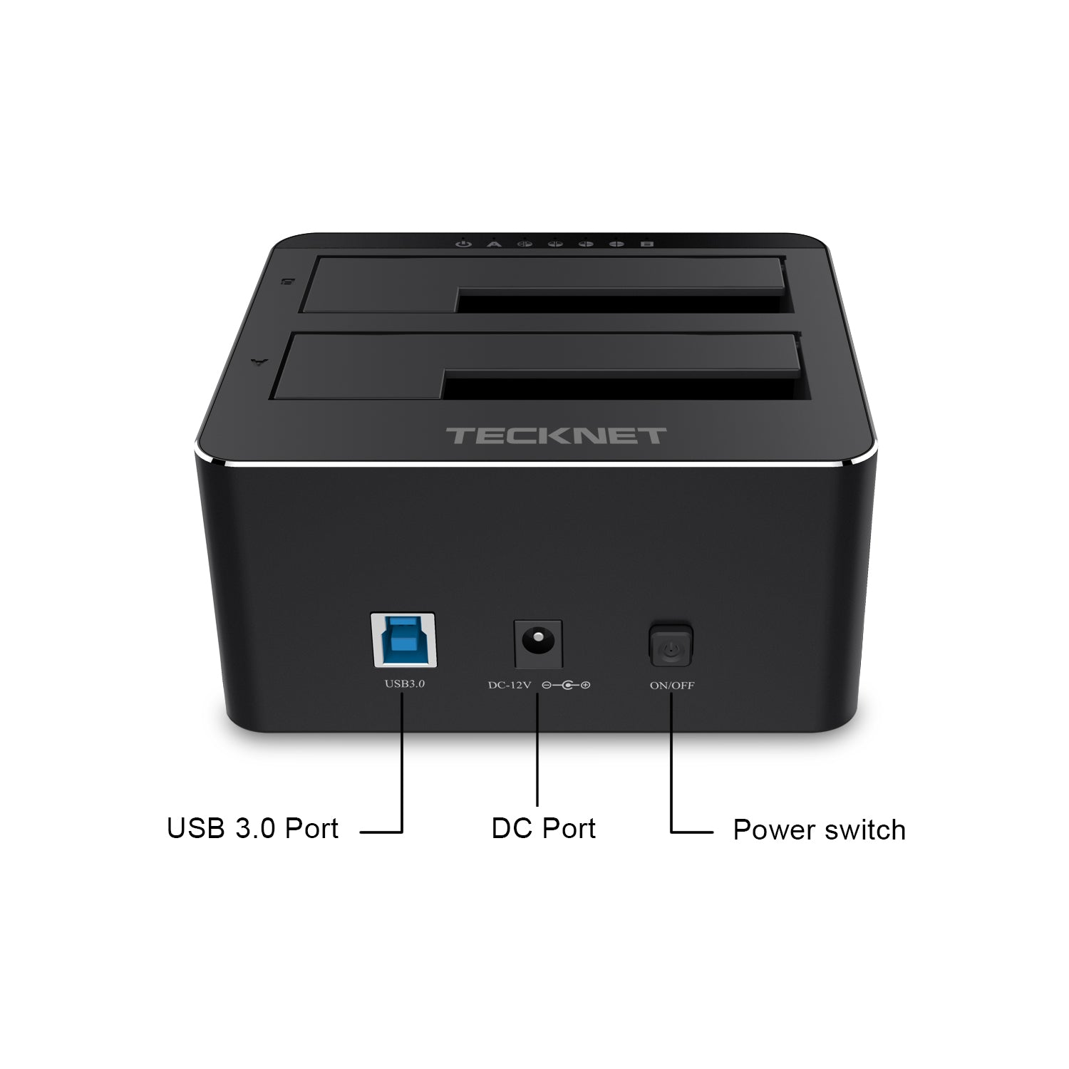 TECKNET Docking station USB 3.0 Super Speed for Hard Drives