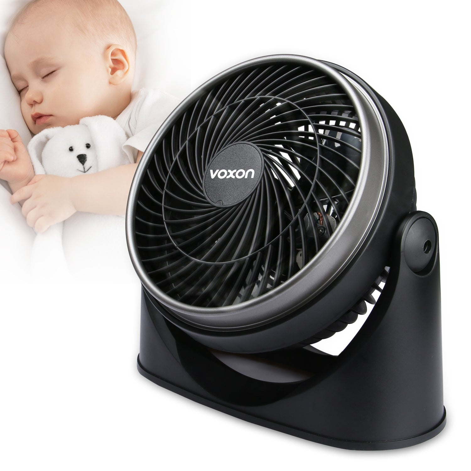VOXON Turbo Force Air Circulator Table Fan Wall Mounted Desk Fans