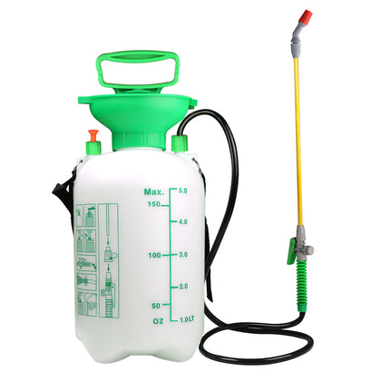 VOXON 5L Pump Knapsack Sprayer With Pressure Release Valve for Garden Watering - smartekbox