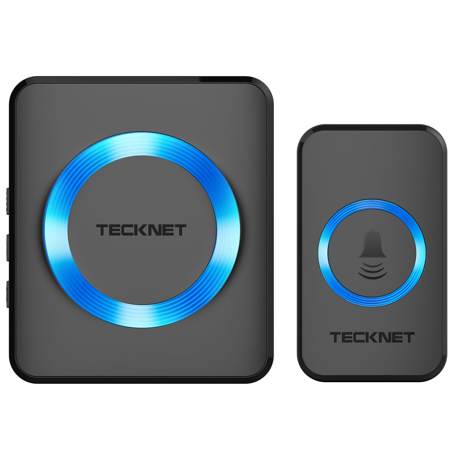 TECKNET Waterproof Wireless Wall Plug-in Doorbell, 32 Chimes