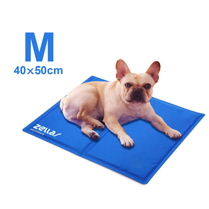 Zellar Pet Cooling Mat Dogs Cats Cool Mat Self Cooling Beds - smartekbox