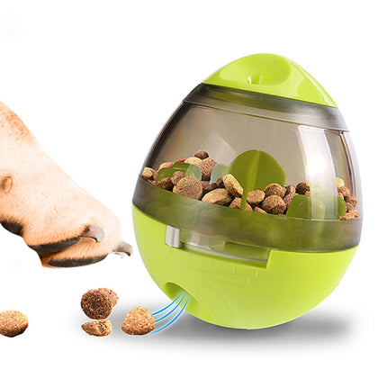 Zellar Treat Dispensing Dog Toy Ball Food Dispenser Slow Eating Ball - smartekbox