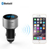 TECKNET F36 Bluetooth FM Transmitter With 5V/2.1A USB Car Charger