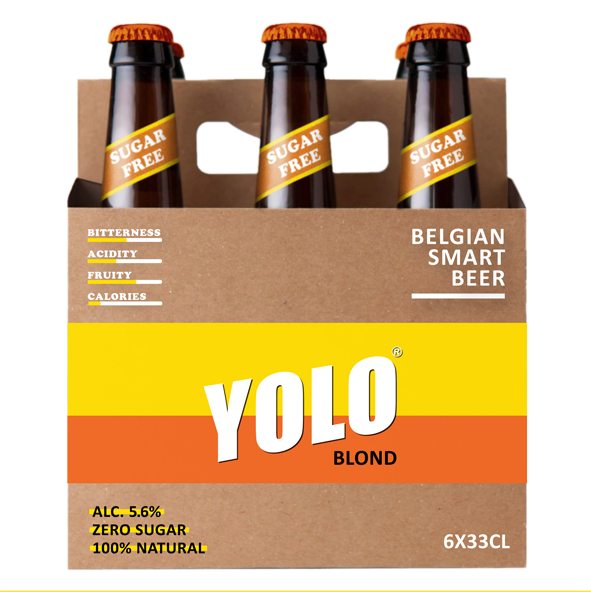 YOLO BLOND 6x33cl