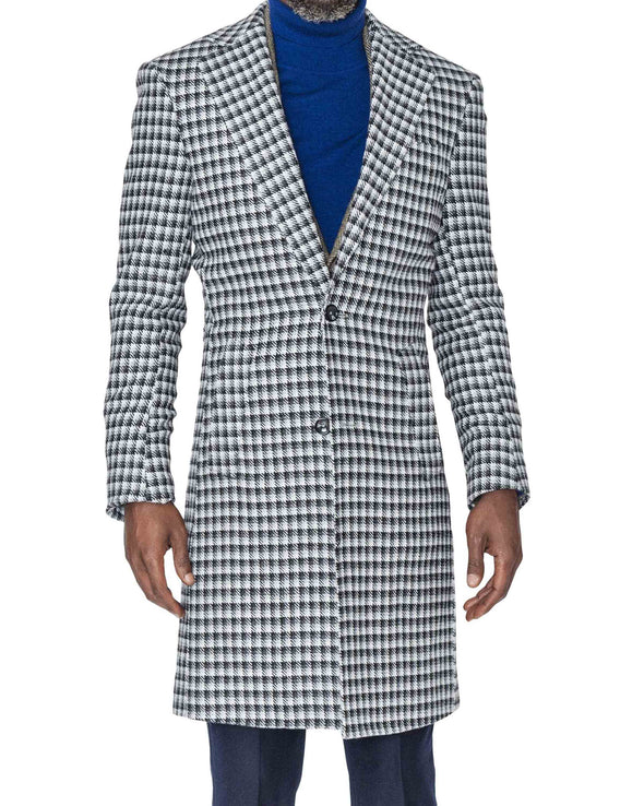 Bobby Houndstooth Coat Closed