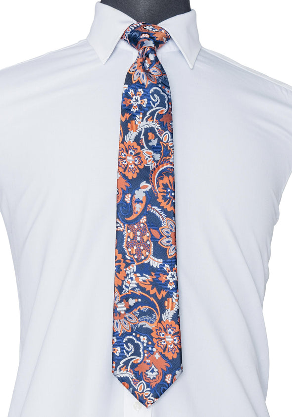 Multi-colored Pattern Tie
