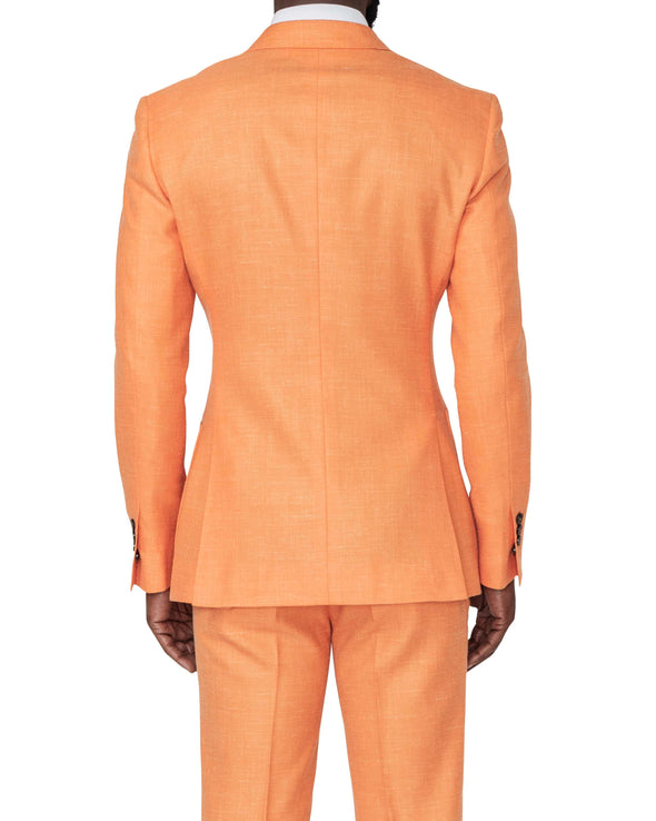 Miami Orange Suit Back