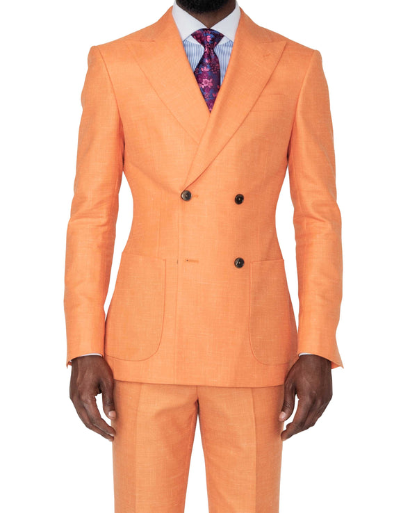 Miami Orange Suit Front