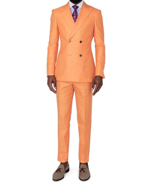Miami Orange Suit Full