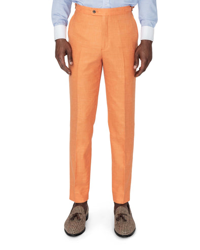 Miami Orange Suit Trousers Front