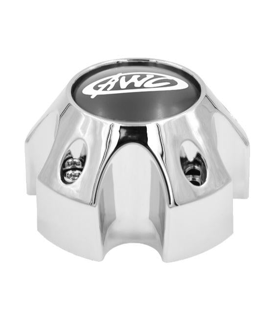 CP850-5 AWC 850 TRAILER CAP CHROME FITS 5X4.5 BOLT PATTERN