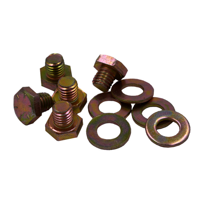 RBL-BOLT-SSBZ RACELINE WHEELS BRONZE STAINLESS STEEL BOLT/WASHER 5 PACK