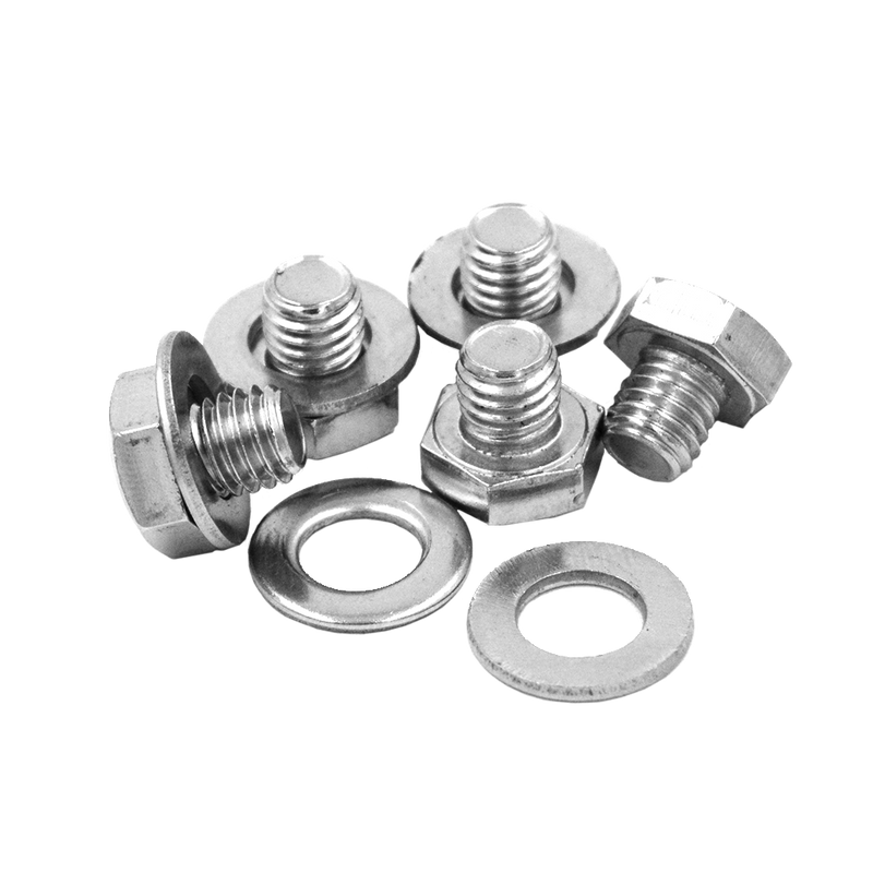 RBL-BOLT-SS STAINLESS STEEL BOLT AND WASHER SET OF 5