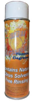 BIG ORANGE FOAMING CITRUS DEGREASER - 4 CANS