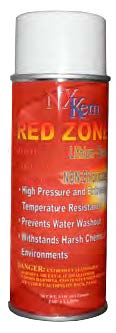 Red Zone Red Spray Grease Lithium Base - 4 Cans