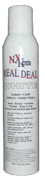 Real Deal White RTV Caulking Silicone - 2 Cans