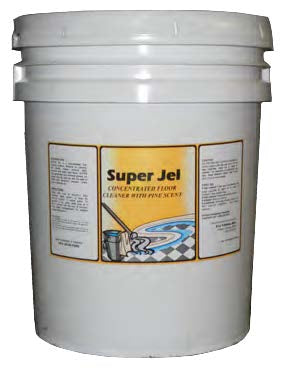 Super Jell Pine Concentrate Cleaner & Degreaser - 5 Gallon Pail