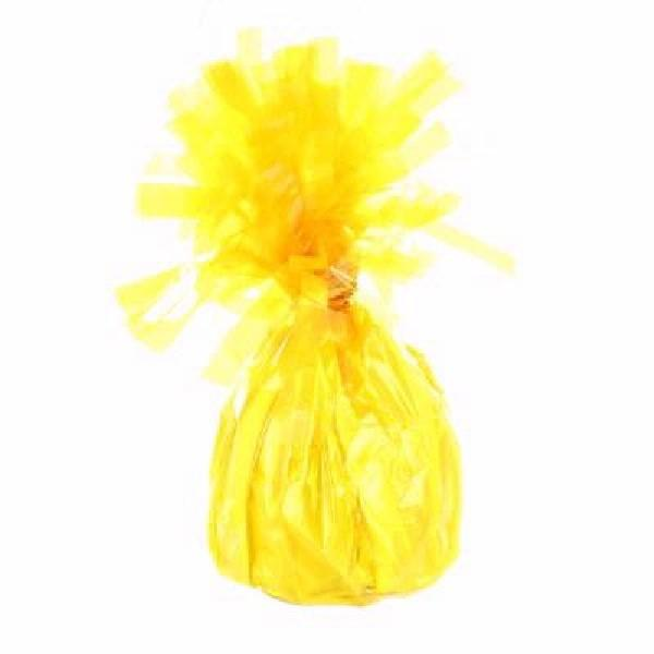 Yellow Foil Balloon 170g Weight