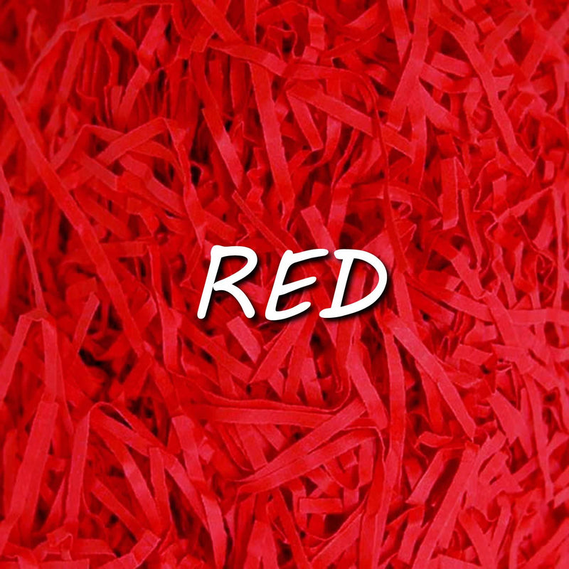 20g Pack of Red Shredded Tissue Paper