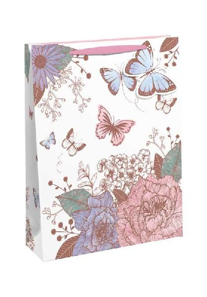 Flowers & Butterflies Perfume Gift Bag