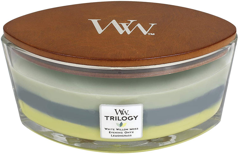 WoodWick Ellipse Trilogy Woodland
