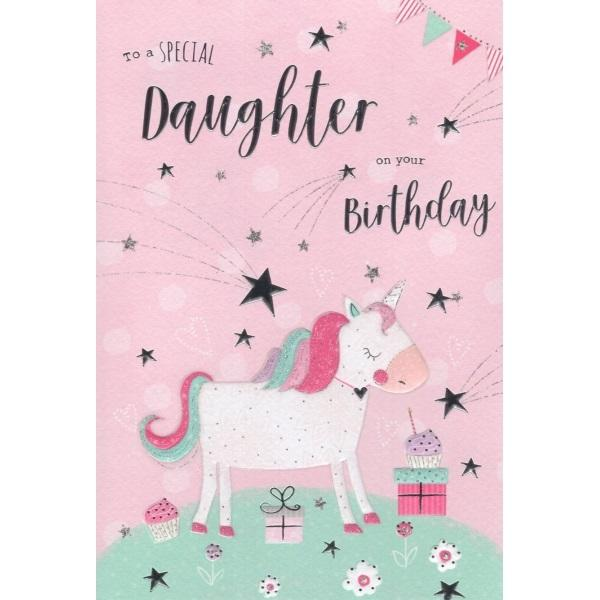 Birthday Card - To a Special Daughter Card