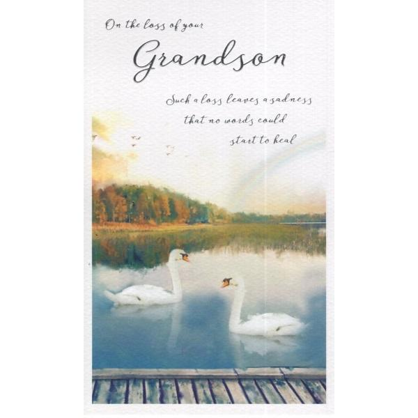 On The Loss Of Your Grandson Such Card