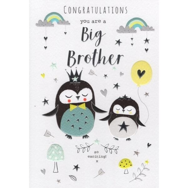 Congratulations You Are A Big Brother Card