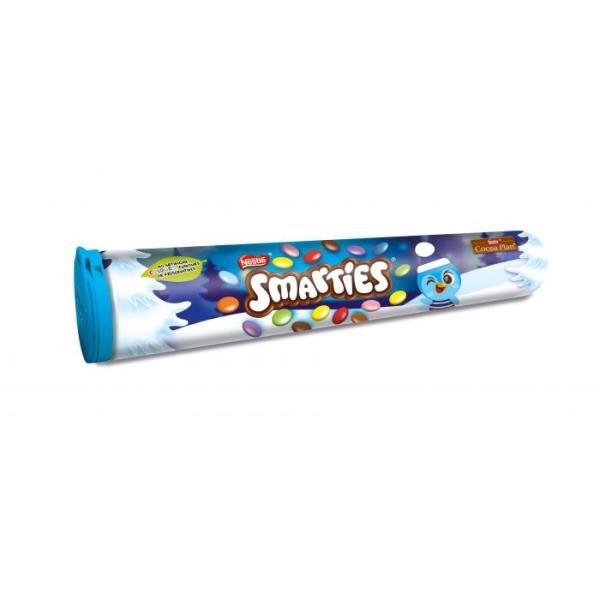 Smarties Milk Chocolate Giant Tube 130g