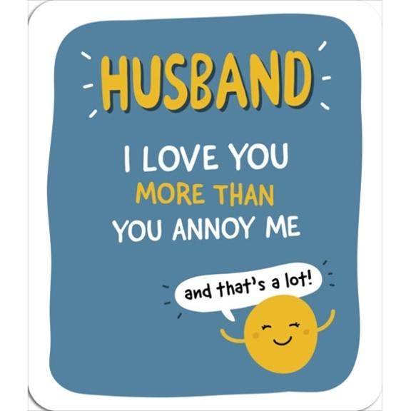 Sunny Husband Birthday Card