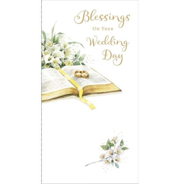 Blessings on Your Wedding Day Wedding Card