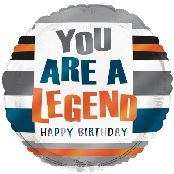 "You Are A Legend 18"" Foil Balloon"