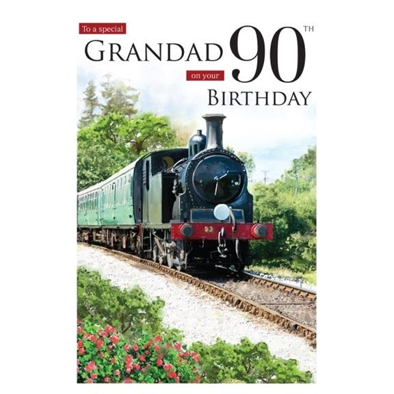Special Grandad 90th Birthday Card