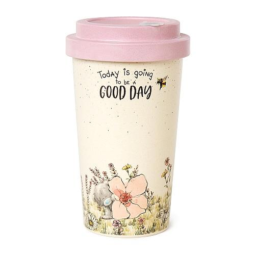 Reusable Bamboo Me To You Good Day Coffee Travel Cup