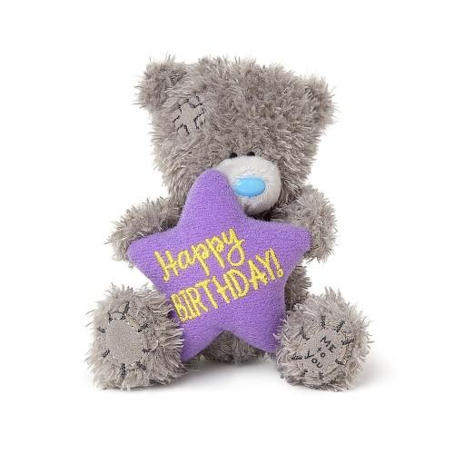 "4"" Happy Birthday Star Me to You Bear"