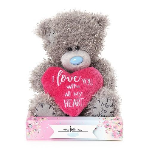 "7"" Padded Love Heart Me To You Plush Bear"