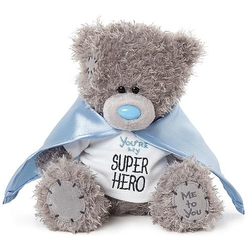 "7"" Super Hero Me To You Plush Bear"