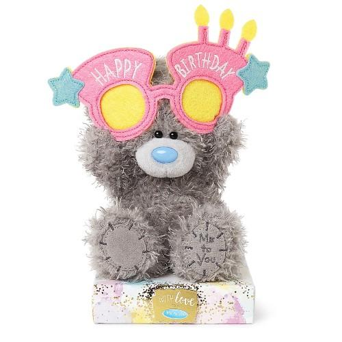 "7"" Wearing Happy Birthday Glasses Me to You Bear"