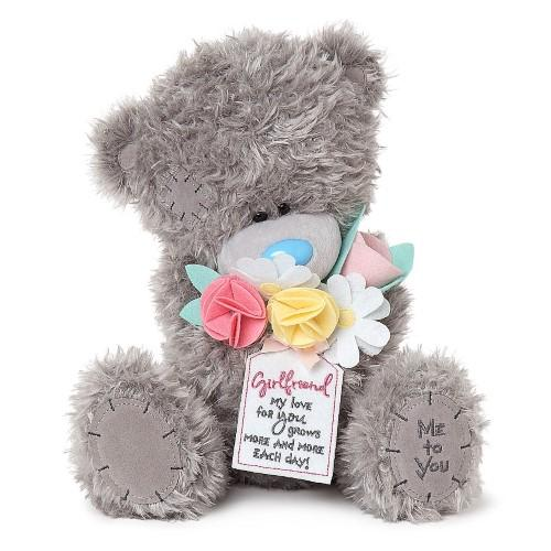 "12"" Girlfriend Flower Bouquet Me to You Bear"