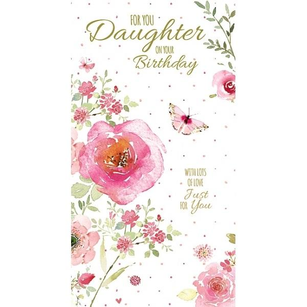 Birthday Card - For you Daughter