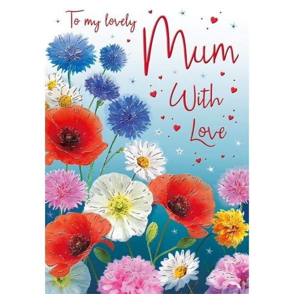 Birthday Card - To my lovely Mum