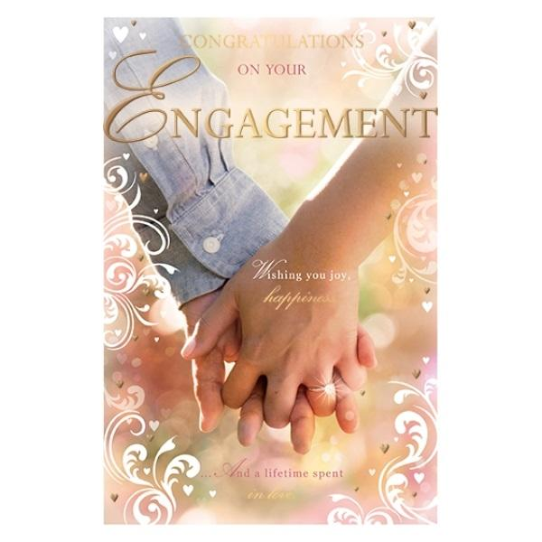 Congratulations On Your Engagement Engagement Card