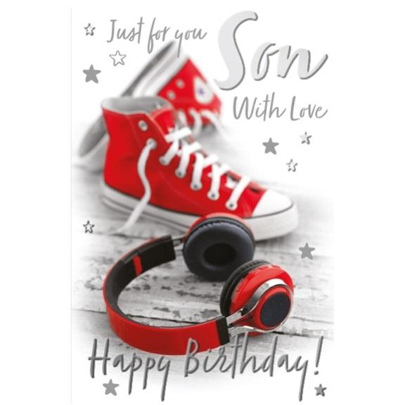 Music Son Birthday Card