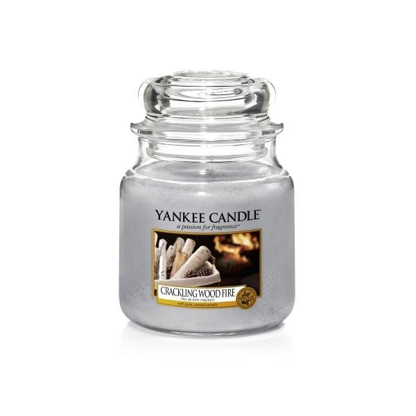 Yankee Candle Medium Jar Crackling Wood Fire