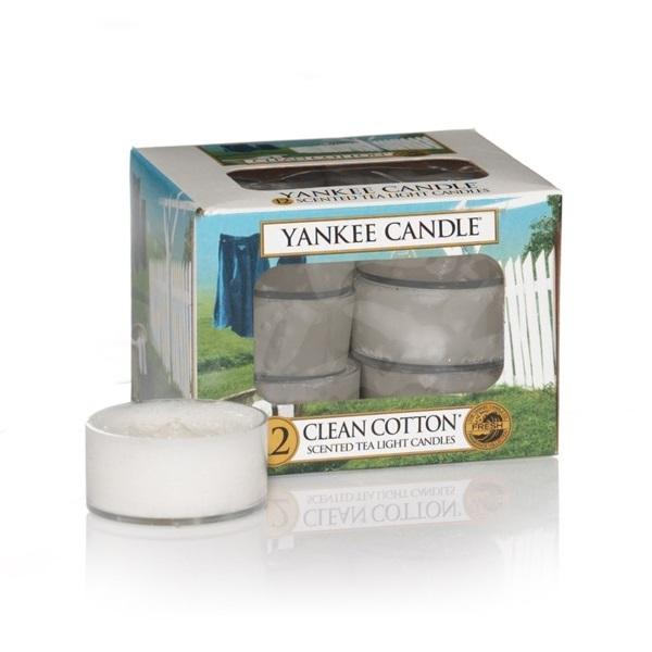 Yankee Candle Tea Light Clean Cotton