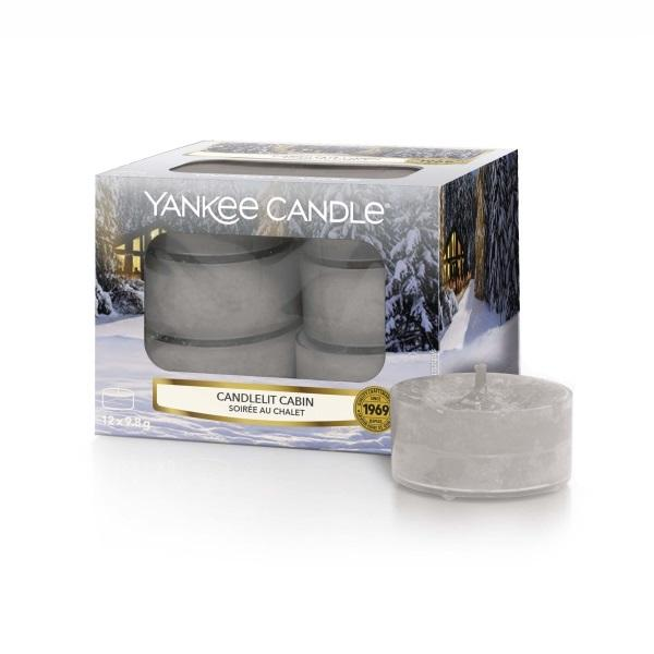 Yankee Candle Tea Light Candlelit Cabin